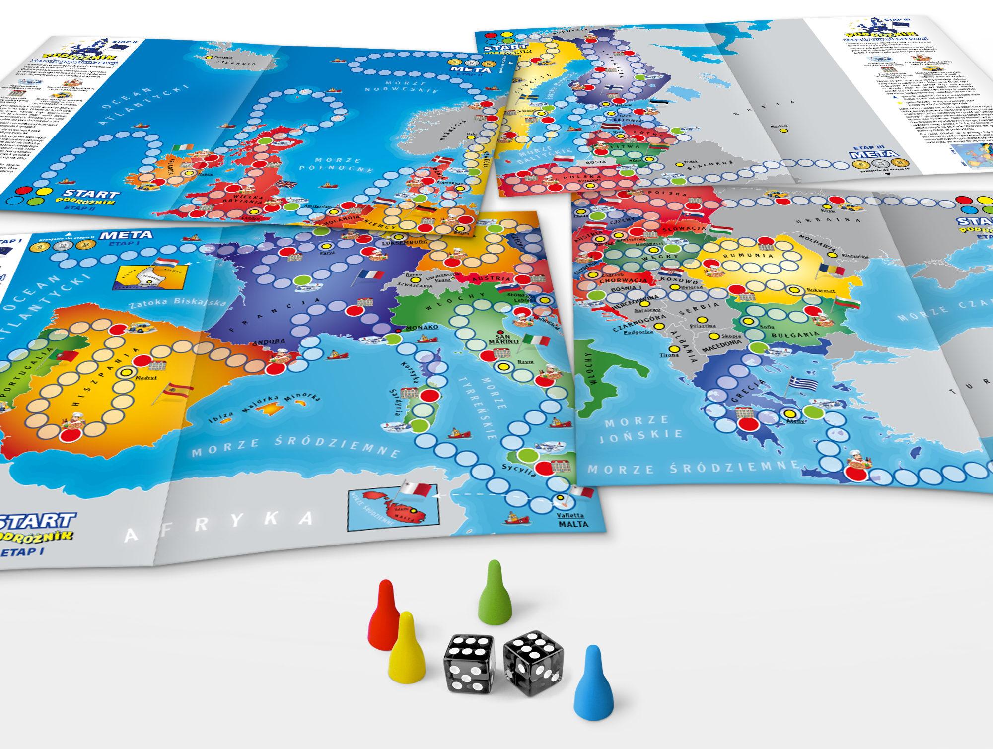 Studio XS – projekt graficzny; opakowania; pudełka; albumu; karty do gry; mapy; gry planszowej