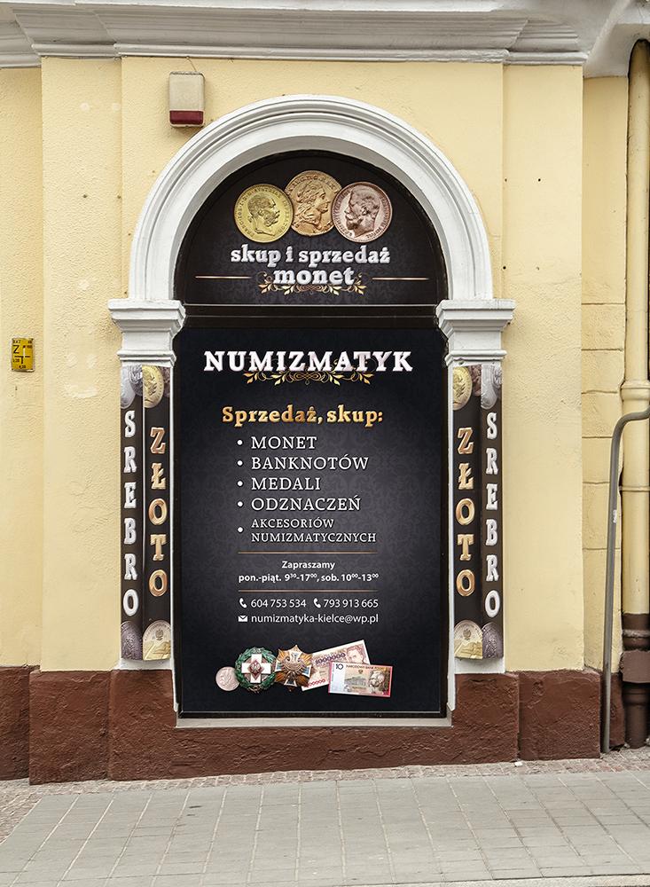 Witryna Numizmatyk