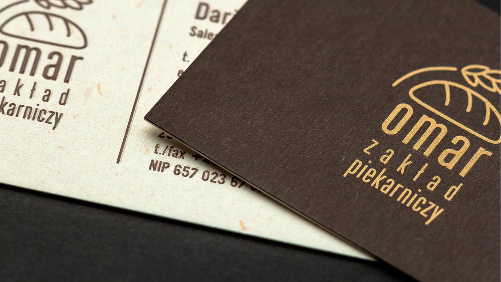 Prestiżowe wizytówki OMAR