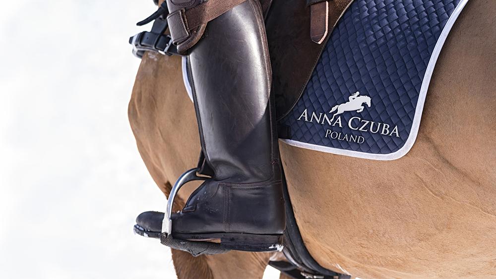 kreatywny; projekt logo; logotyp; creative; project design; Anna Czuba; z koniem; with horse