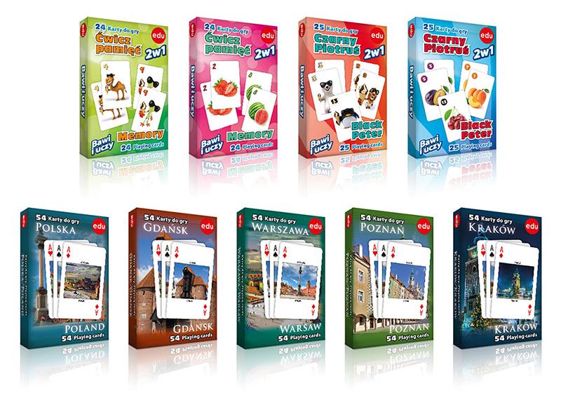 Studio XS – projekt graficzny; opakowania; pudełka; albumu; karty do gry