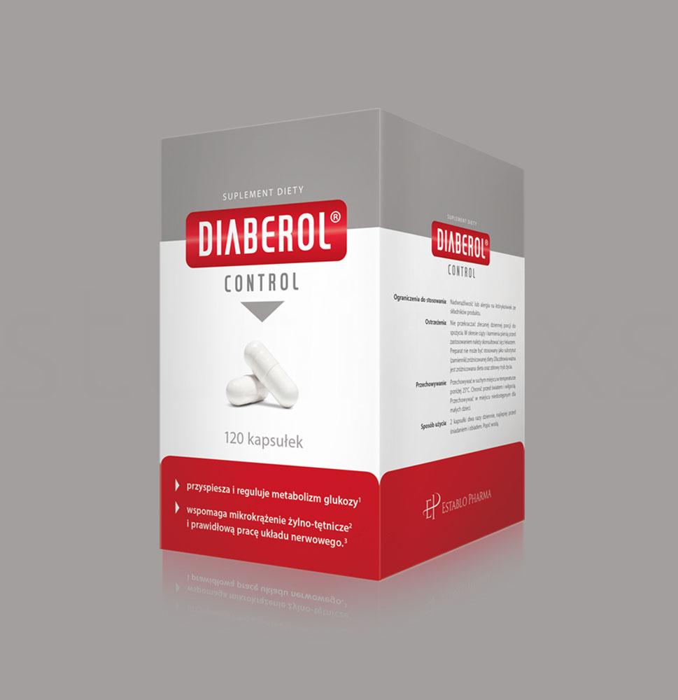 Projekt graficzny opakowania Diaberol Control