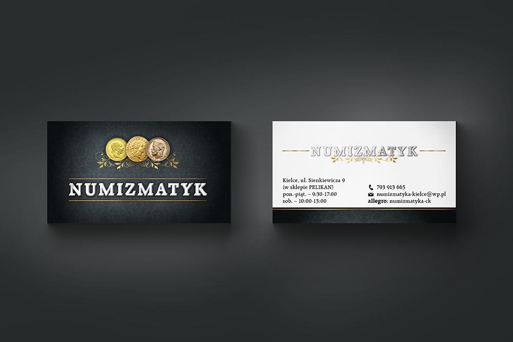 STUDIO XS – projekt; graficzny; logo; logotyp; witryna; reklama; numizmatyk