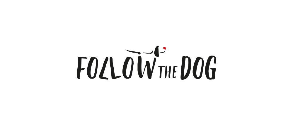 Projekt graficzny; kreatywny; logo; logotyp; follow the dog; wizytówka; roll-up; business card; creative; project; design